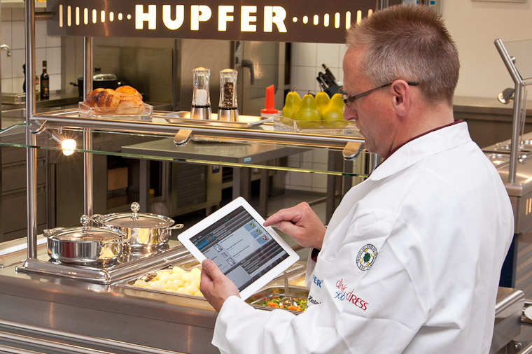 iPad mobile App Software-Lösung datenerfassung HACCP