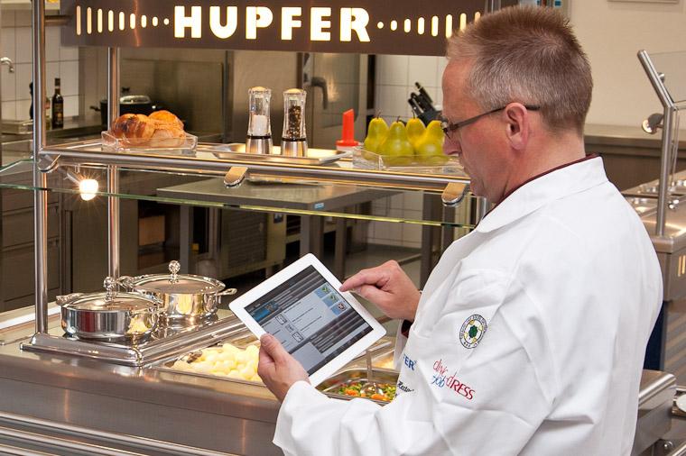 iPad mobile App Software-Lösung datenerfassung HACCP