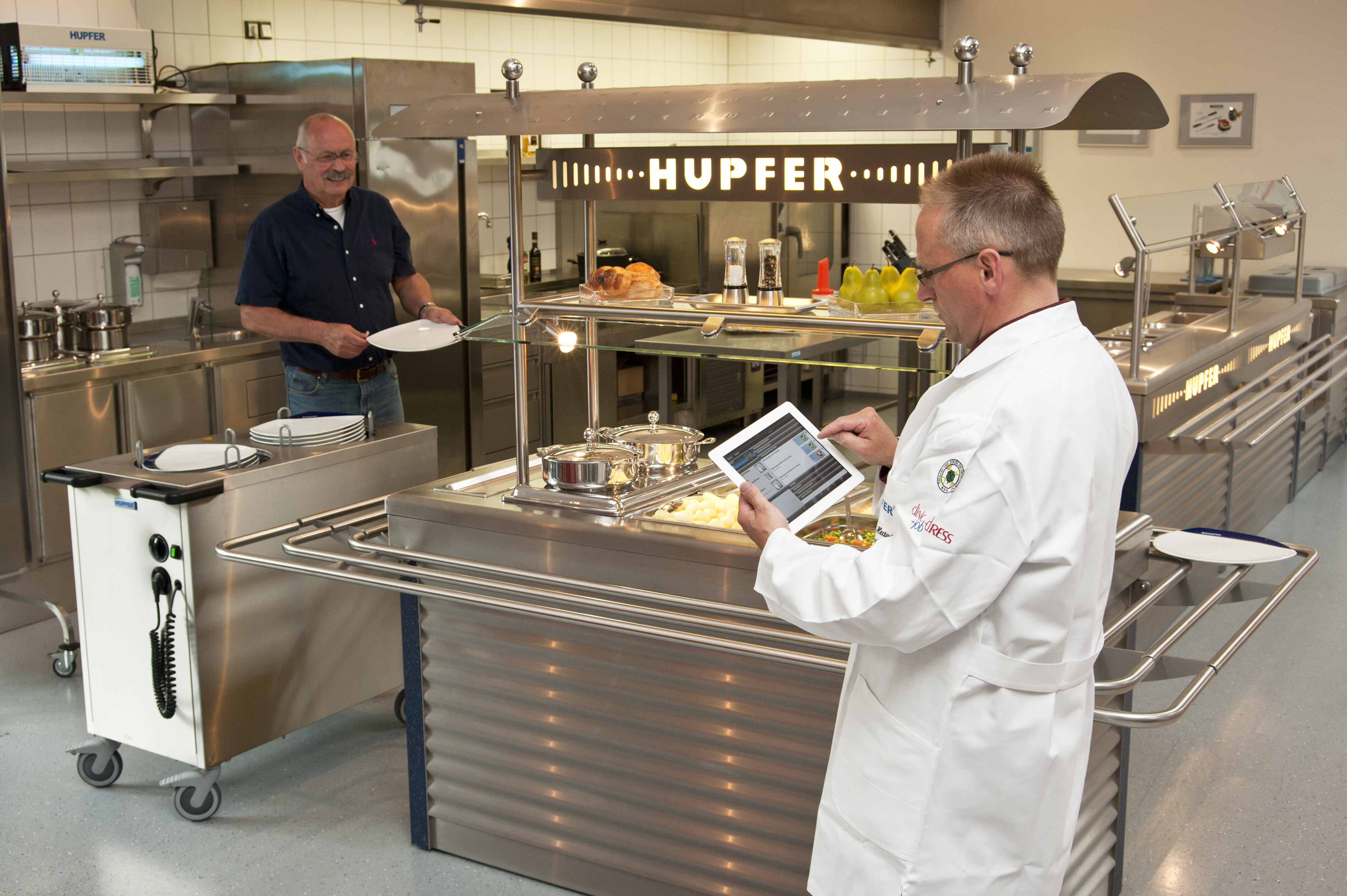 Digitalisierte Küche