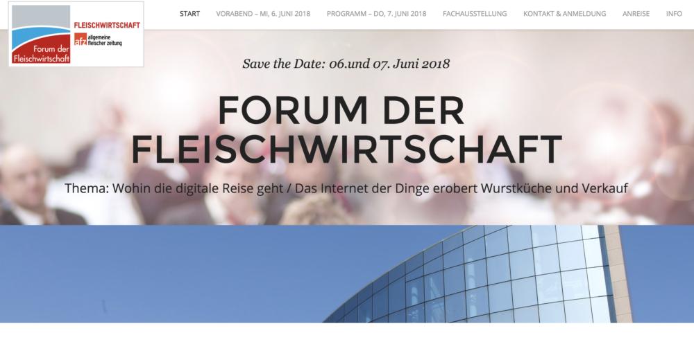 Forum der Fleischwirtschaft