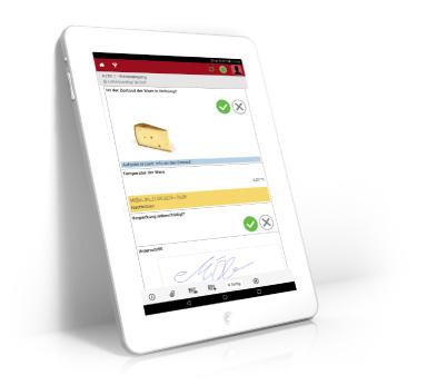 Awenko:360 QMS auf Tablet