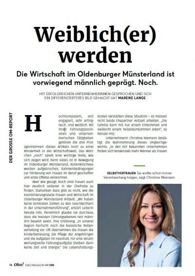 Artikel Oldenburger Münsterland