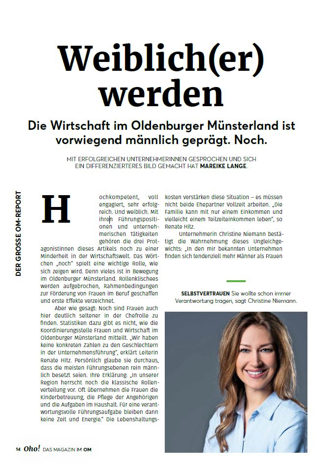Artikel Oldenburger Münsterland
