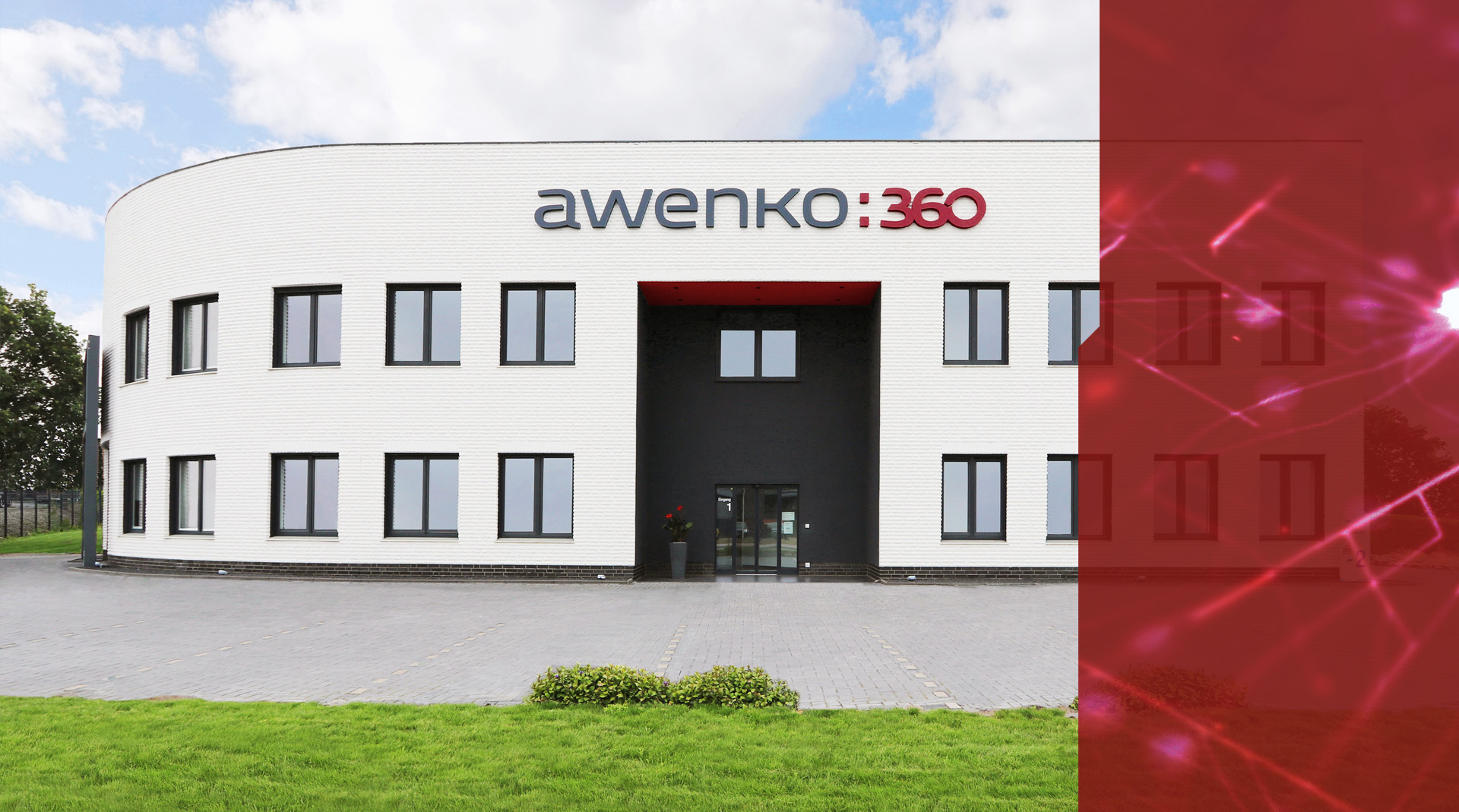 awenko:360 QM Software Firmengebäude